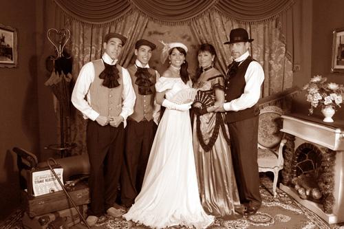 Sesión Fotográfica Familiar al Estilo Antiguo